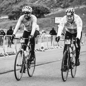 Neil and Adrian - Tour de Yorkshire 2016